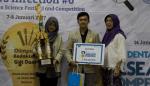 Teliti Sisik Gurami Untuk Lubang Gigi, Diana Dan Adit Juara Di ASEAN