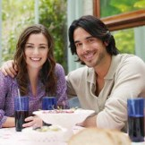 Young Couple Dining at Home --- Image by © moodboard/Corbis