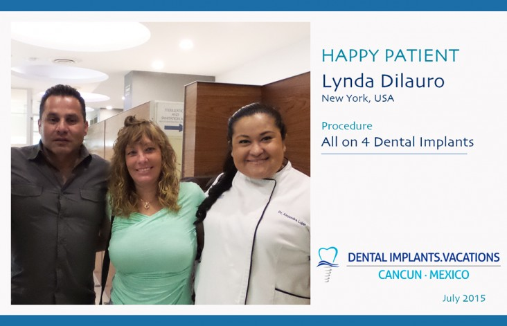 Happy Patient - All on 4, Dental Implants in Cancun