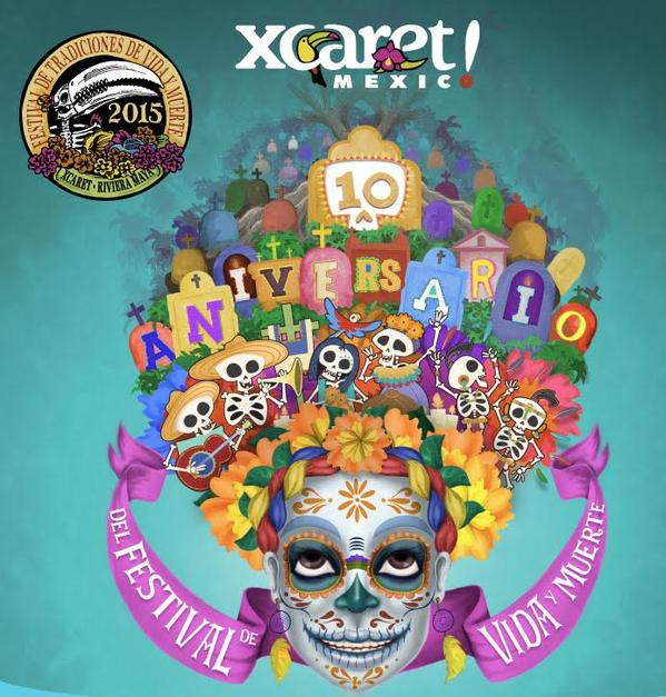 Festival of Life and Death Traditions in Xcaret Cancun Riviera Maya