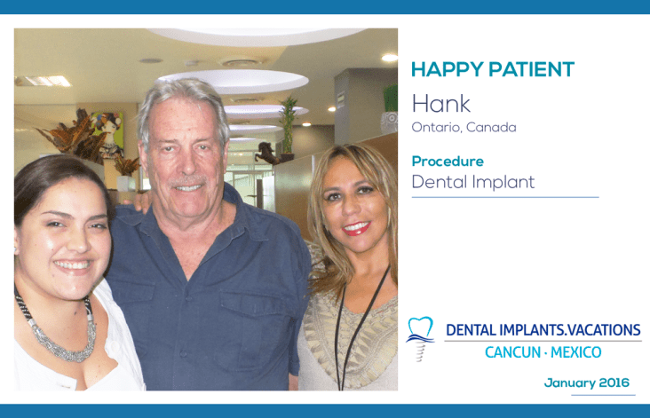 Low Cost Dental Implants in Cancun Vacation
