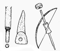 Mayan Dentistry tools