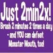 National Children's Dental Health Month Monster Mouth Tips!