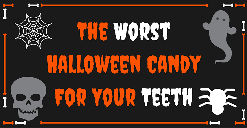 The Worst Halloween Candy for Your Teeth
