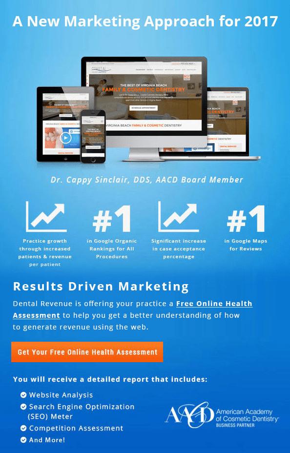 dental web marketing online assessment