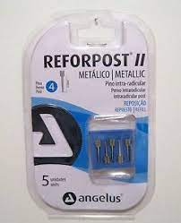 ANGELUS Reforpost Metallic Pack Of 10 (Without Slit)