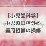歯周組織の損傷