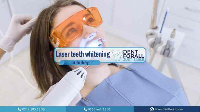 Laser teeth whitening and its effectiveness