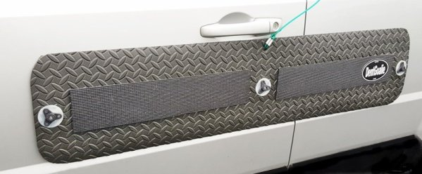 suction cup door dent protector for fiberglass and aluminum cars