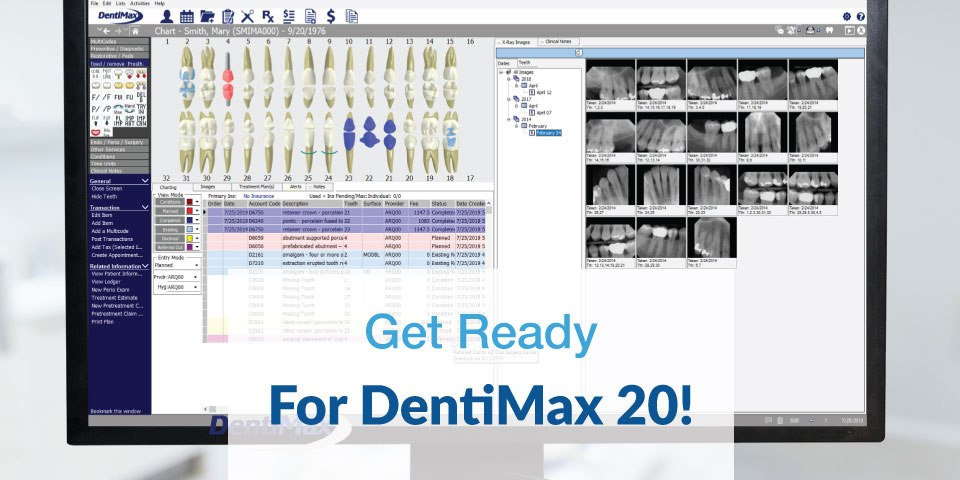 Get ready for DentiMax 20