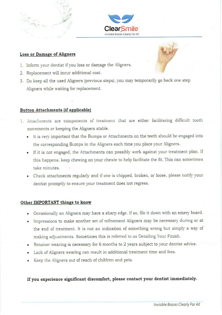 clearsmile-patient-instructions 2