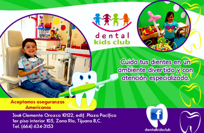 Dental Kids Club  Dentista para nios en Tijuana  Odontopediatra