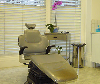 silla de consultorio dental