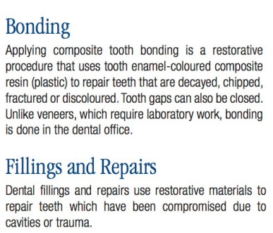 Common Dental Procedures, Replacing a Lost Tooth, Brampton Dentists, To Dentists in Brampton, Dental Facts, Dental Information, Bonding, Fillings and Tooth Repair,