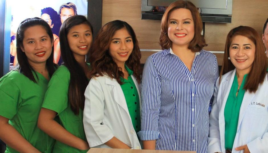 Staff at the Lebosada Clinic