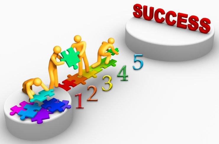 خطــوات للنـجـــــاح – Steps for success