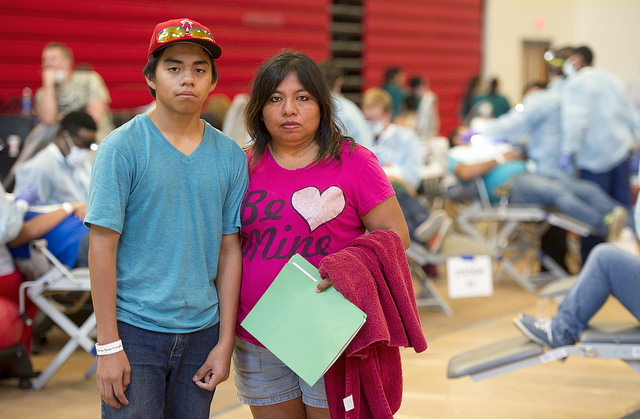 Patient Jose and his mom, Elizabeth