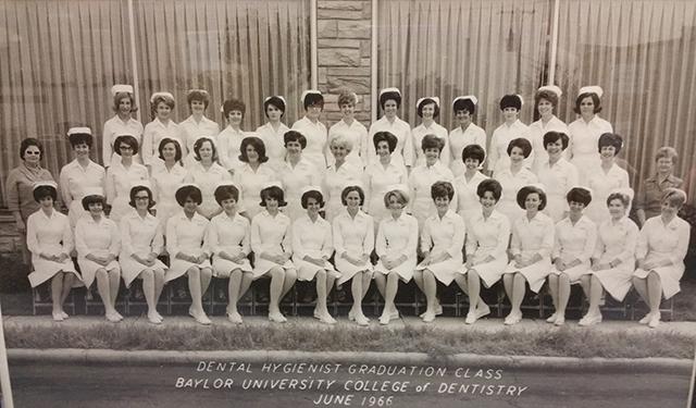 Dental Hygiene Class of 1966