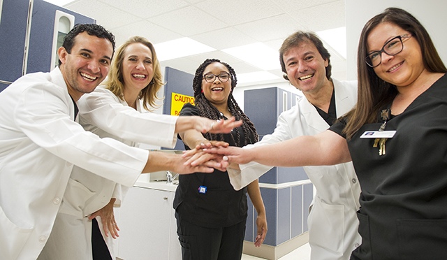 Center for Maxillofacial Prosthodontics team