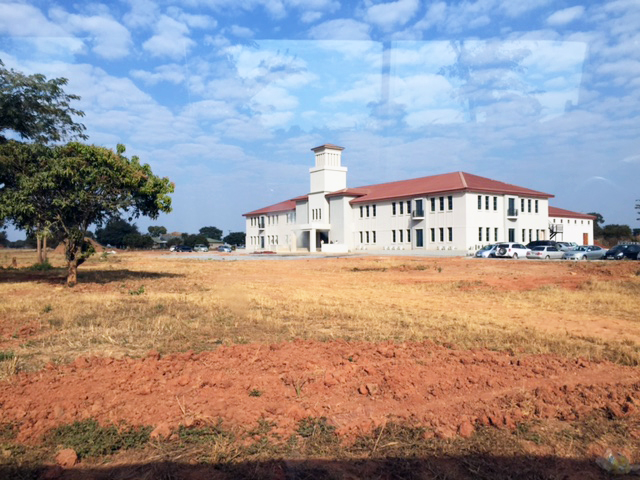 Part of the Northrise University campus in Ndola, Zambia