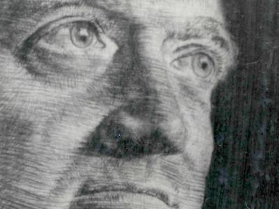 An artist's rendering of Dr. Bernhard Gottlieb