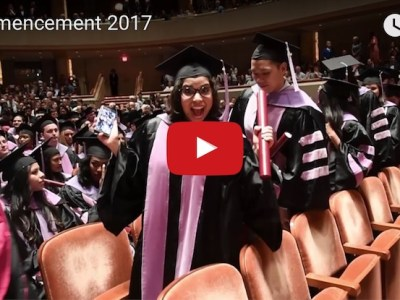 Commencement 2017 recessional