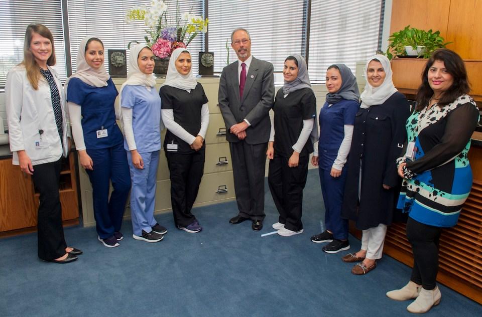 Dean Wolinsky, Saudi administrators and Saudi students