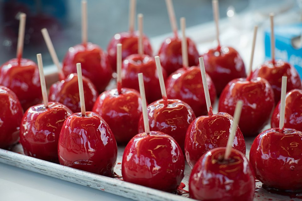Candied apples. Photo: Kevin Brown/State Fair of Texas