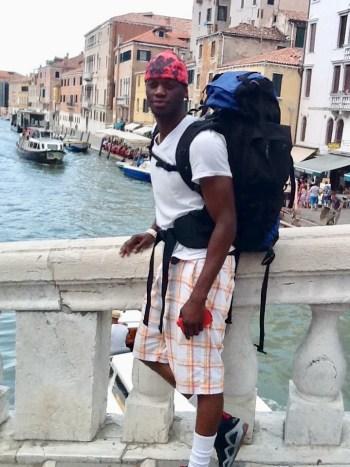 Patrick Foadey in Venice