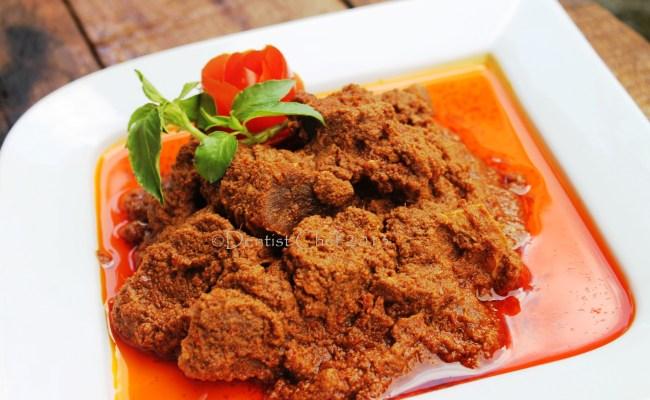 Resep Kalio Indonesian Brown Rendang Or Stewed Beef In