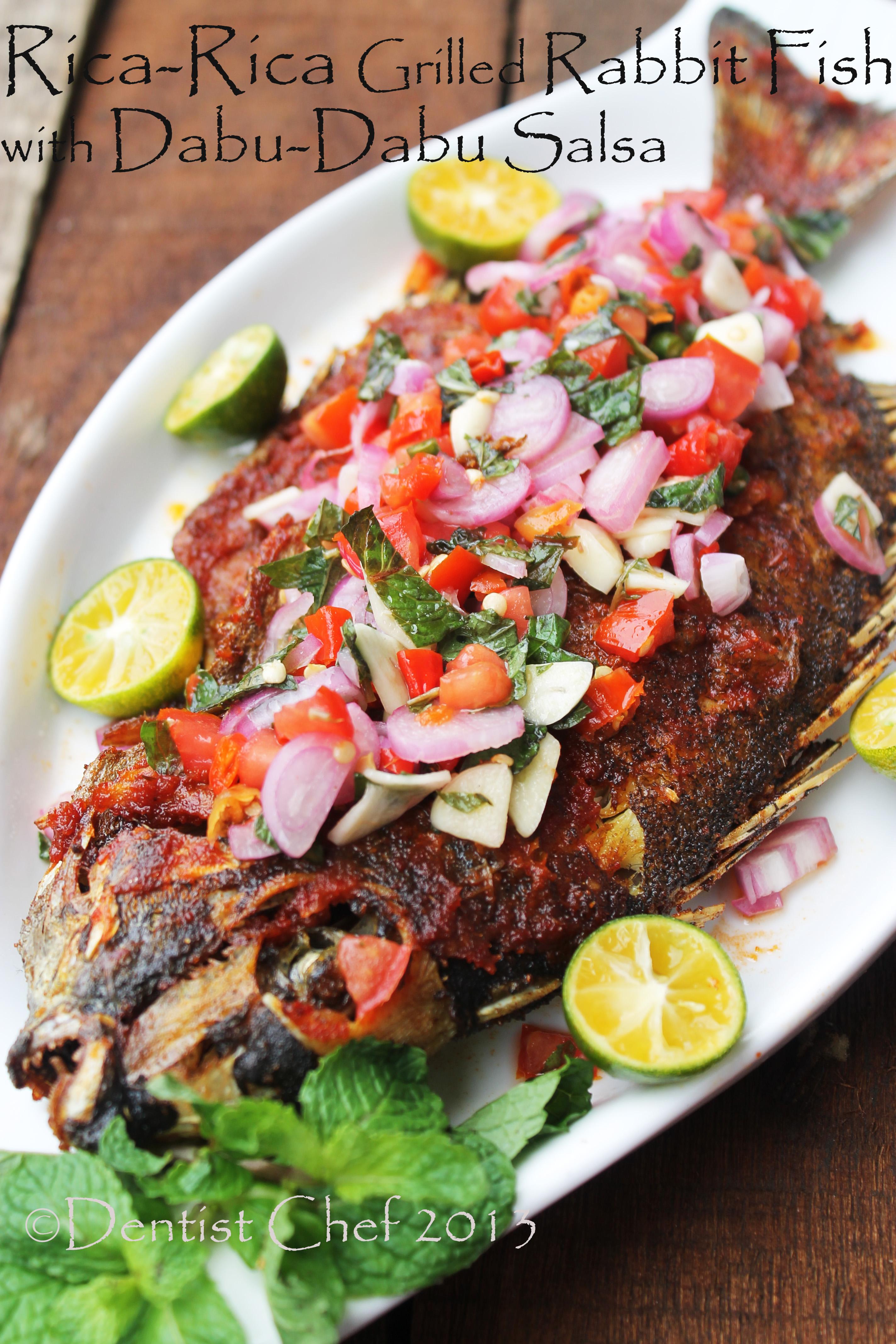 Ikan Baronang Bakar : baronang, bakar, Resep, Baronang, Bakar, DENTIST