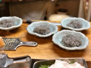 「仲の坂・鎌倉での生活=シラス定食4人前」