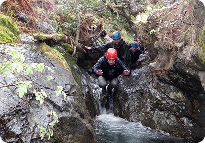 Ghyll Scrambling  Denton House Outdoor activities and