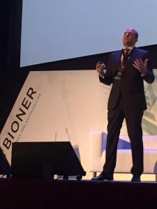 Jesús Creagh en el II Simposium Bioner Xperience