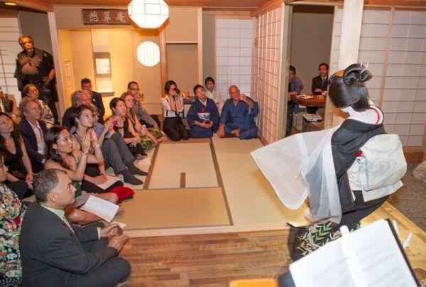 NYで芸者菊乃とDentouイベント開催