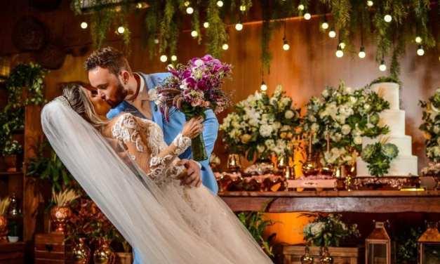 Casamento moderno: Gabriela e Christopher
