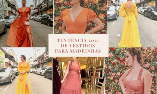 TENDÊNCIA 2021 de vestidos para madrinhas
