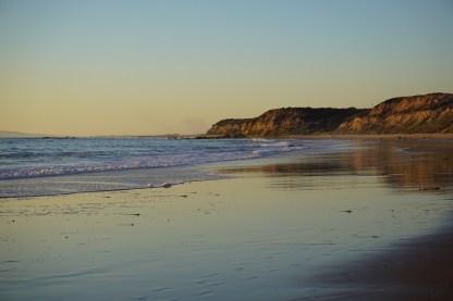 Crystal Cove Beach Near Sunset