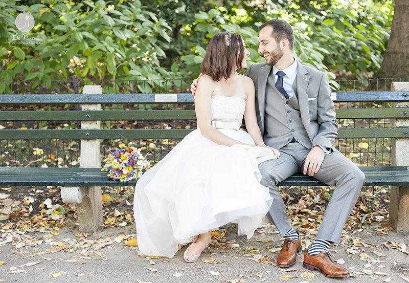 Central Park fotógrafo do casamento