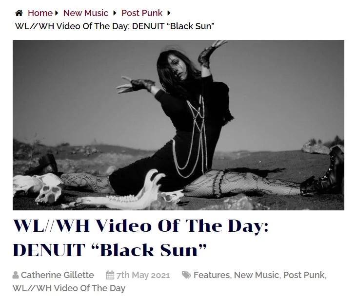 video of the day denuit black sun