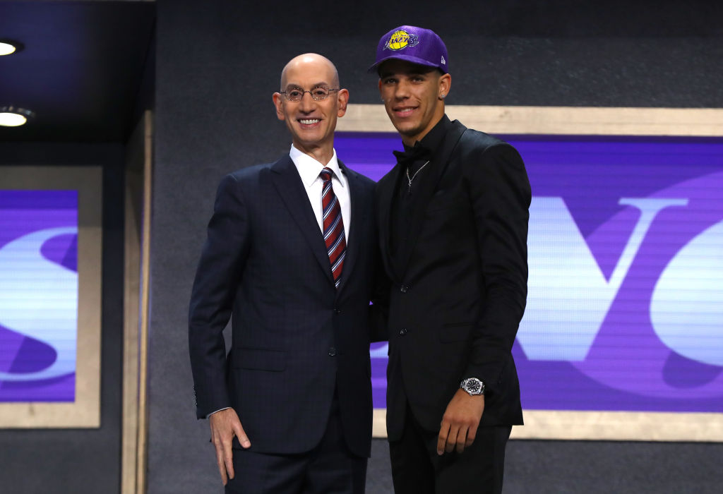 Lakers Select Lonzo Ball With No. 2 Overall Pick In NBA Draft – CBS Los  Angeles