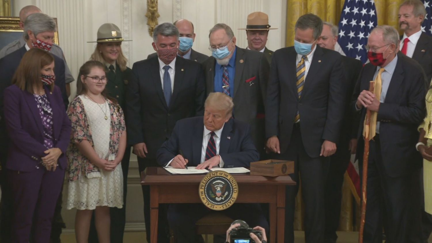 President Trump Signs Great American Outdoors Act Into Law