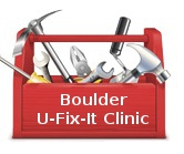 U Fix It >> Boulder U Fix It Clinic Lamp Repair Workshop