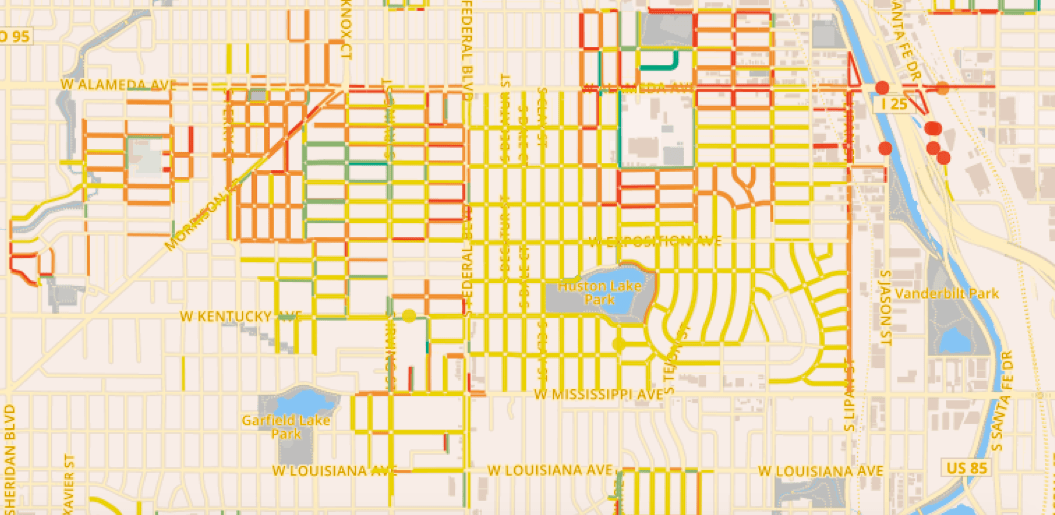 Help Map Denver's Walkability and Win $1,000 for Your Neighborhood Denver Neighborhood Map on
