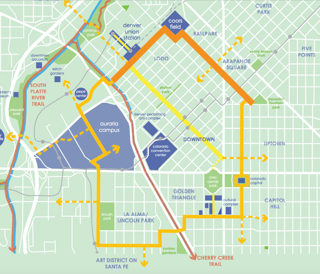 Downtown Bike/Ped Loop A Top Priority For Downtown Denver