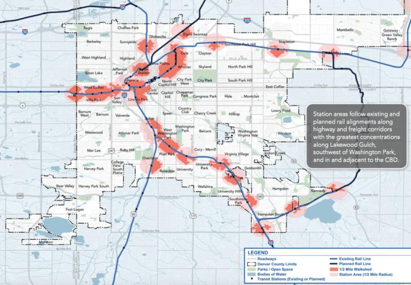 Denver S Unwalkable Rail Network Visualized Streetsblog Denver