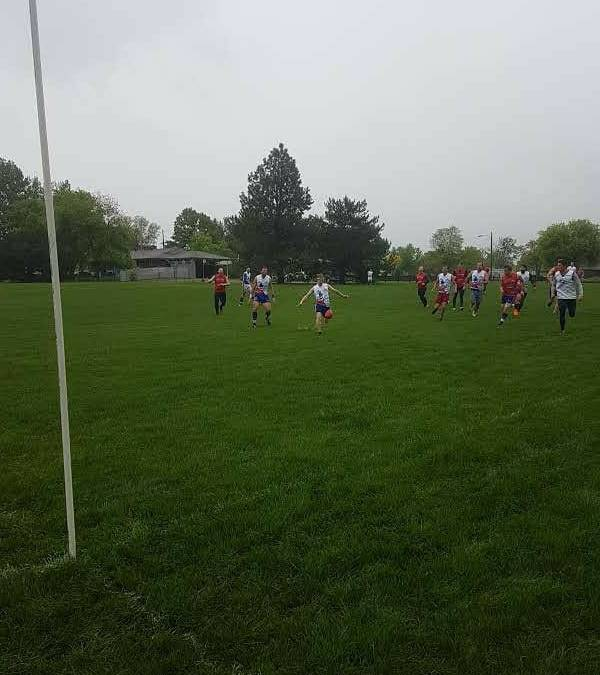 Dingos Win Game 1 in a wet and wild affair