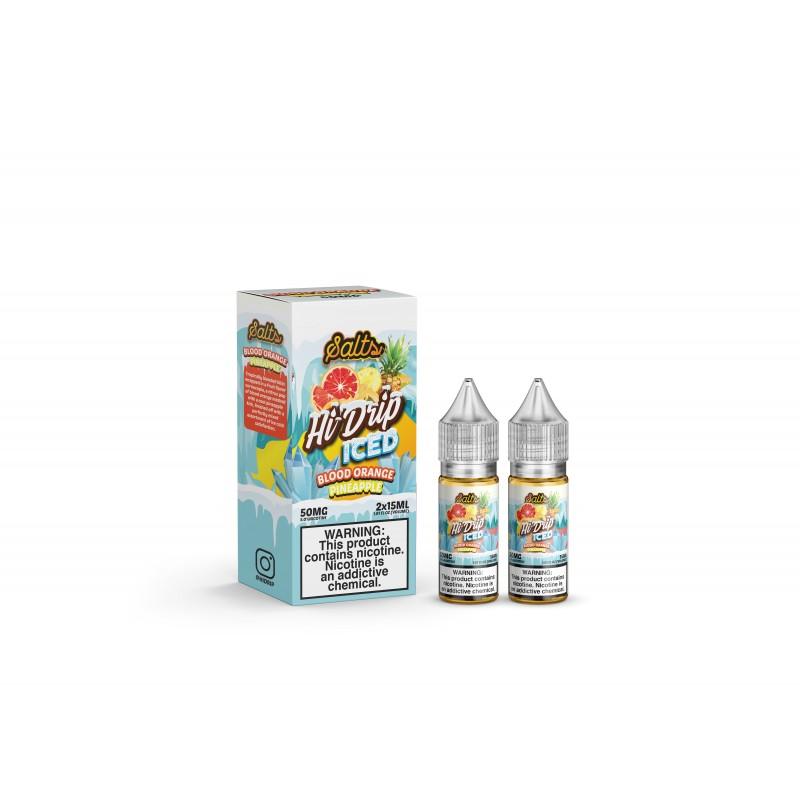Sameday Delivery | Hi-Drip Blood Orange Pineapple Ice 100ml- ONLINE VAPESTORE