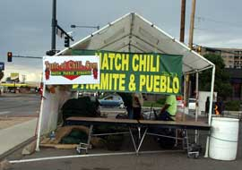 Federal & 17th Taste of Chili stand