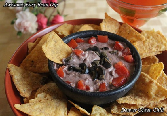 Awesome Easy Peasy Funny Looking Bean Dip